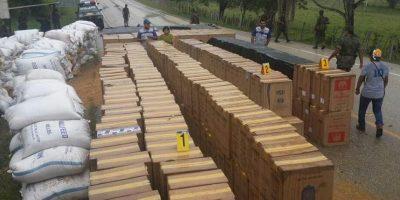 Decomisan más de seis millones de cigarrillos de contrabando