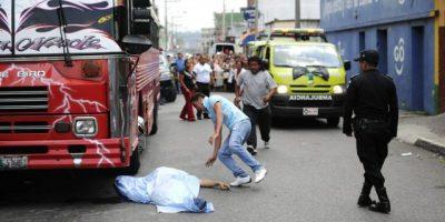 Siete pilotos de buses han sido asesinados en lo que va de 2015