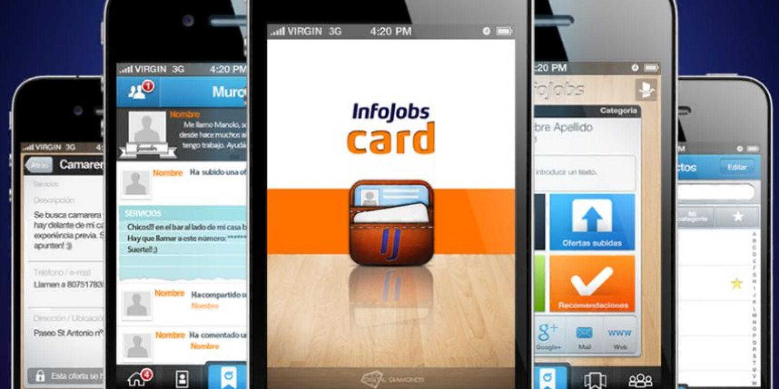 Infojobs Card Foto:Agencias