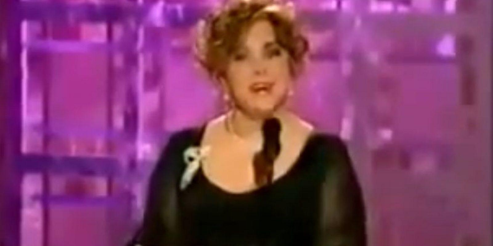 Estaba tan ebria que ni siquiera podía leer los nominados a Mejor Película Dramática. Foto:NBC