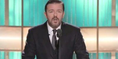 Pero hubo otros momentos antes. ¿Cómo olvidar las bromas de Ricky Gervais en 2011? Foto:NBC