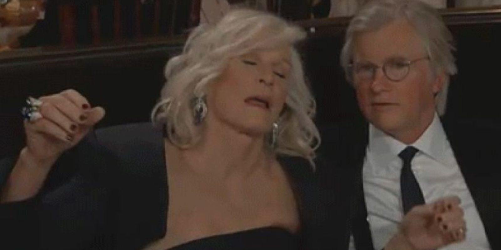 "En esa ceremonia Glenn Close actuó muy ""borracha"" Foto:NBC"