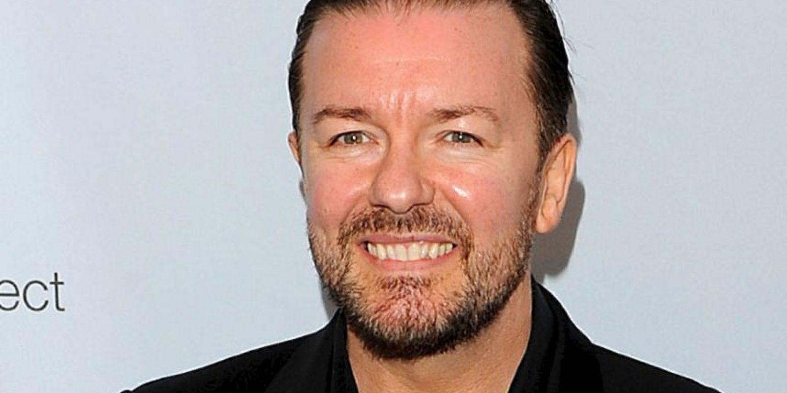 Ricky Gervais recibiría el premio en la categoría masculina. Foto:Getty Images