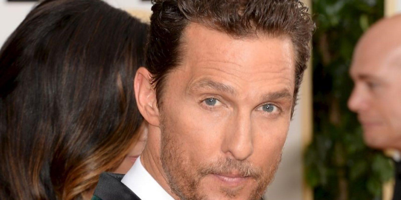 Matthew McConaughey haría lo propio en esta categoría. Foto:Getty Images