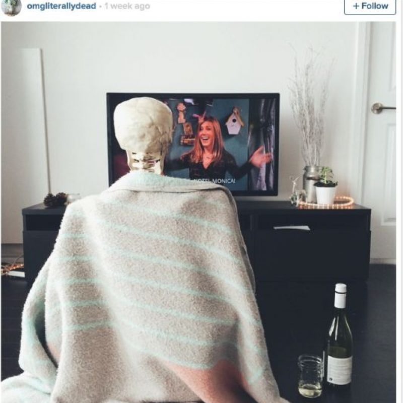 Mañana relajada Foto:OmgLiterallyDead/Instagram