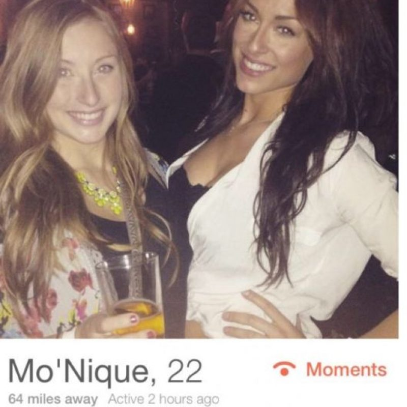 Normal. Solo que… Foto: Tinder