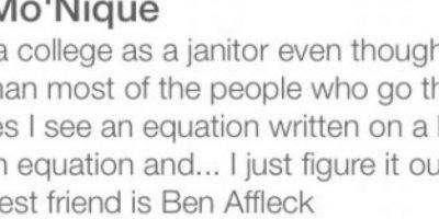 Dice que es superior al resto de las mujeres y su mejor amigo es Ben Affleck. Foto:Tinder