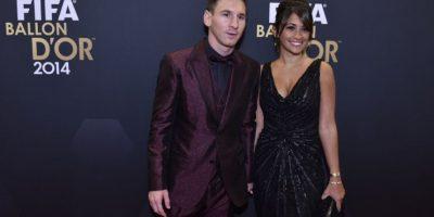 Con este traje se presentó el argentino a la ceremonia del Balón de Oro Foto:FIFA