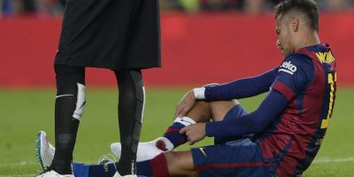 VIDEO: ¡Qué dolor! Así quedó el tobillo de Neymar tras fuerte barrida