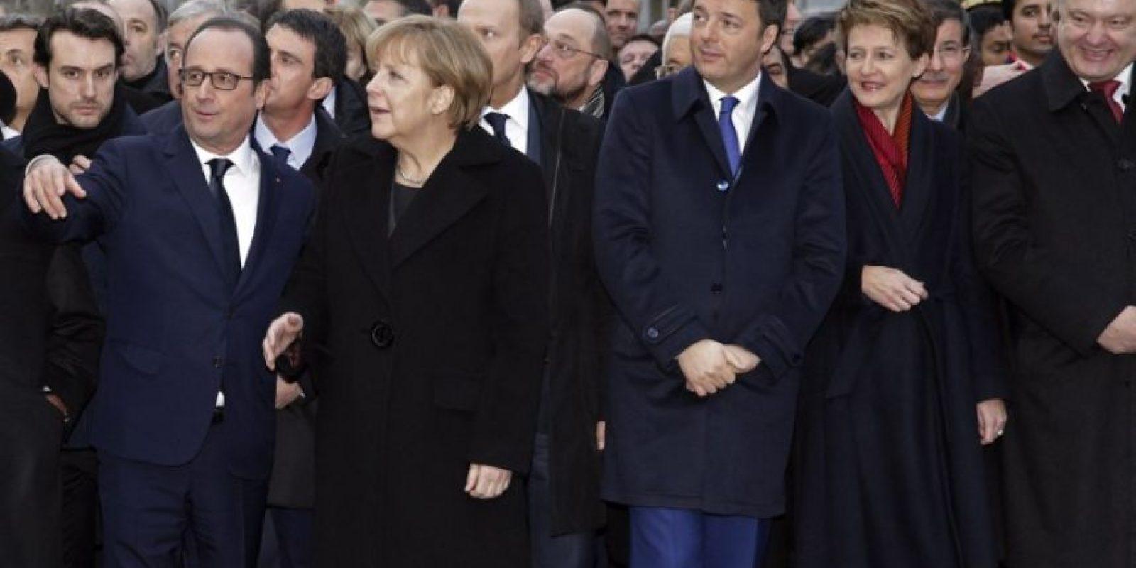 Francois Hollande y Angela Merkel Foto:AFP