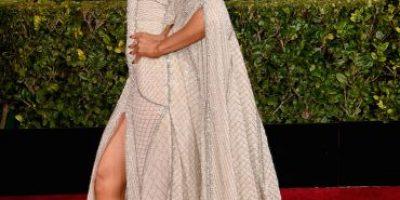FOTOS: El sensual look de Jennifer López en los Globos de Oro 2015