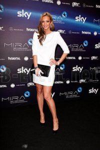 La presentadora británica encantó a quienes siguieron en vivo la transmisión del evento en Zúrich. Foto:Publinews