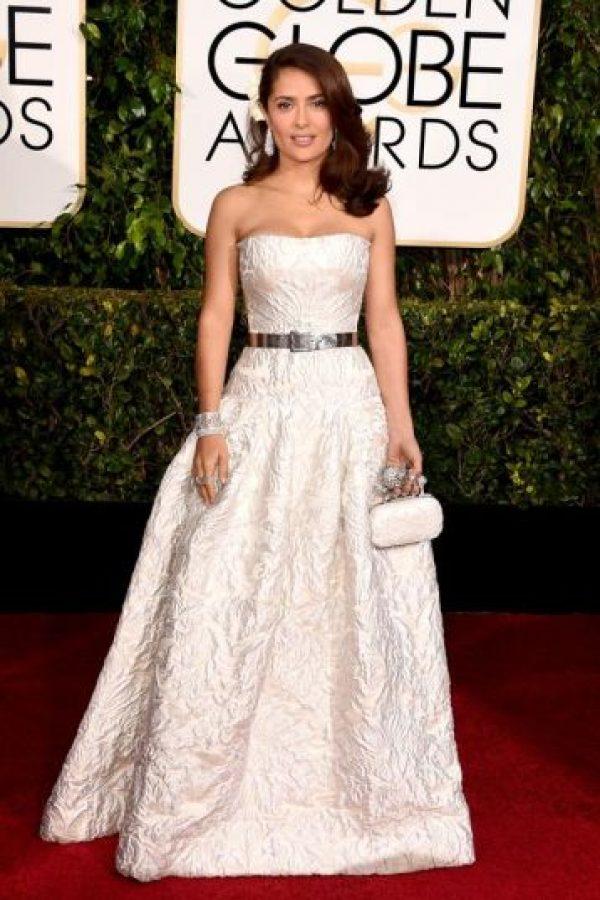 A Salma Hayek lo que le arruinó todo fue el estilismo. Foto:Getty Images