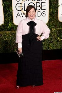 Melissa McCarthy parecía luciendo un cosplay Foto: Getty Images