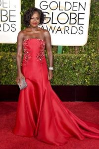 Viola Davis se ve cuadrada en su vestido Foto:Getty Images