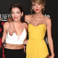 Lorde y Taylor Swift Foto: Getty Images