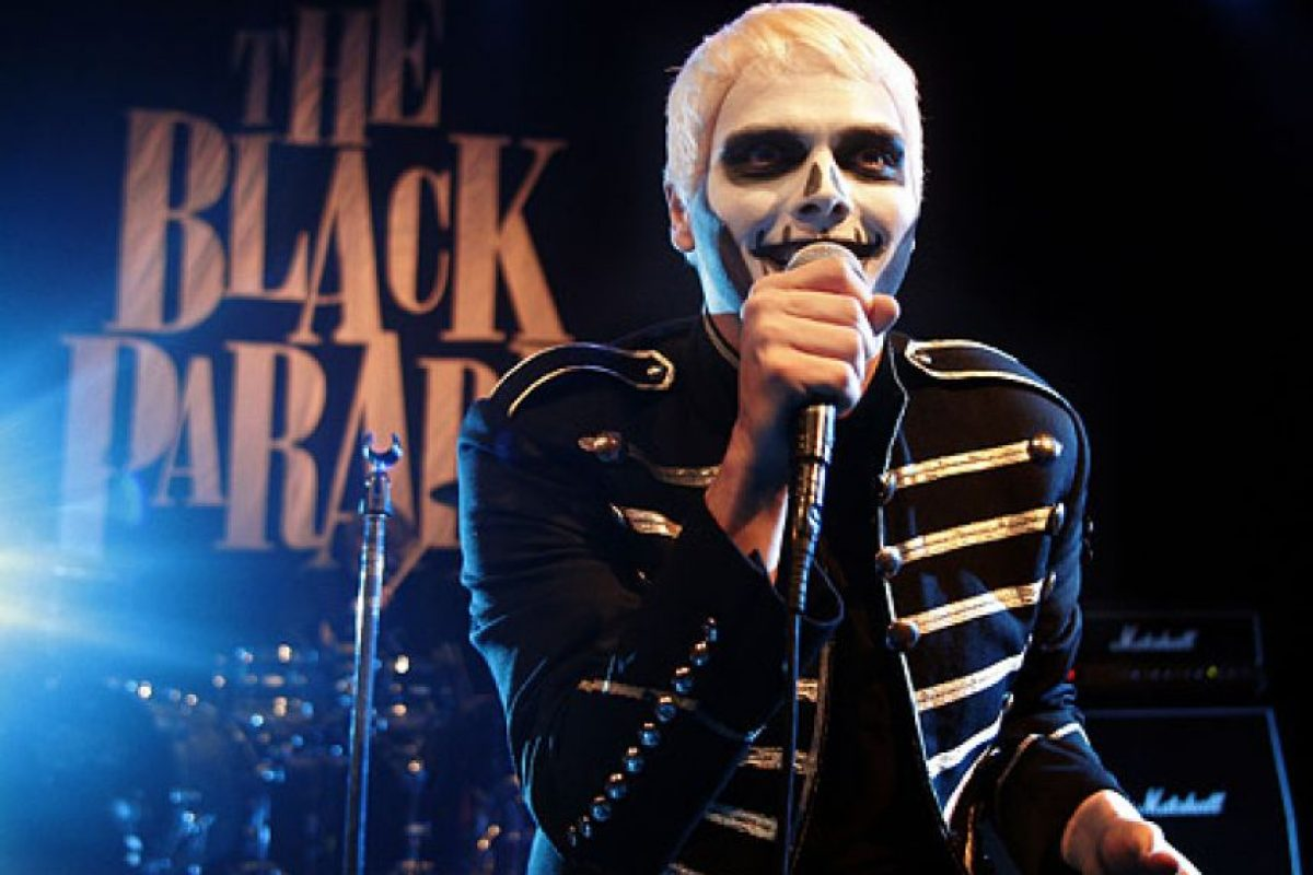 Gerard Way, My Chemical Romance Foto: Agencias