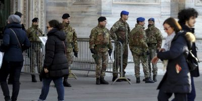 Toda Italia está protegida. Foto:AP