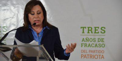 Las 7 razones por las que este gobierno ha fracasado, según Sandra Torres