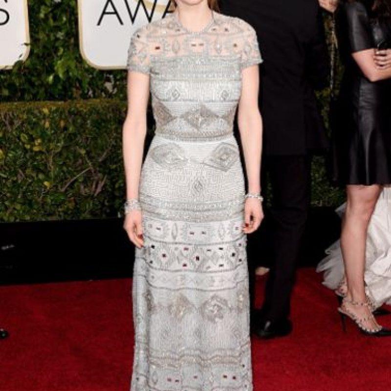 Ellie Kemper, con una buena elección art decó Foto:Getty Images