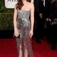 Dakota Johnsson, en un Chanel al que le falta un estilismo mejor. Foto:Getty Images