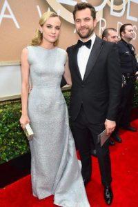 Diane Kruger, imponente en metal. Foto:Getty Images
