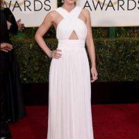 Emily Blunt, en un Michael Kors exclusivo para ella. Foto:Getty Images