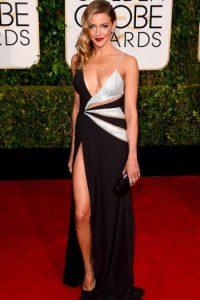 Kate Cassidy, sexy pero con un vestido ya visto. Foto:Getty Images