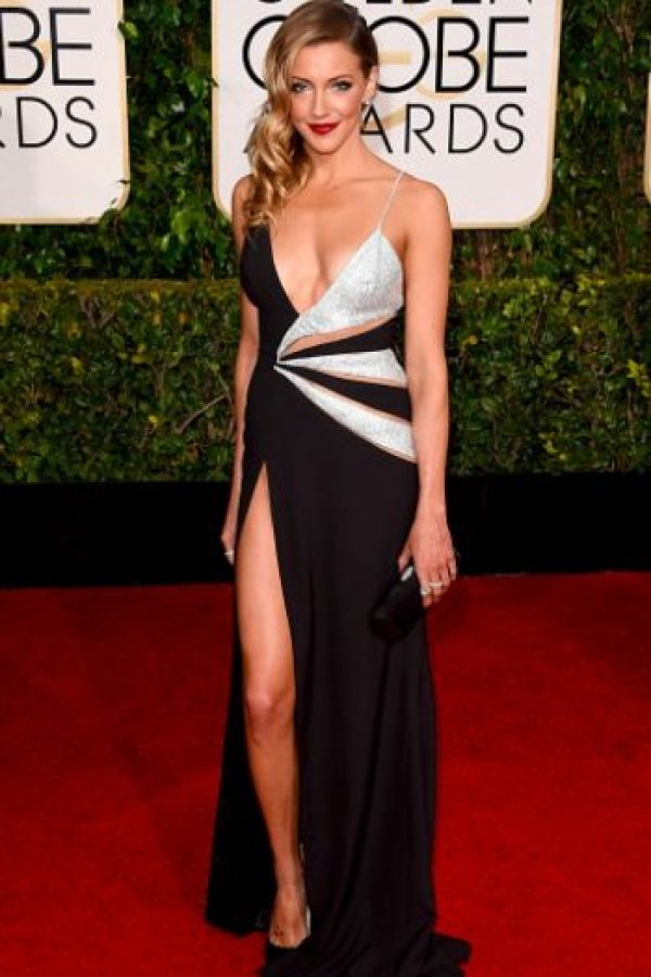 Kate Cassidy, sexy pero con un vestido ya visto. Foto: Getty Images