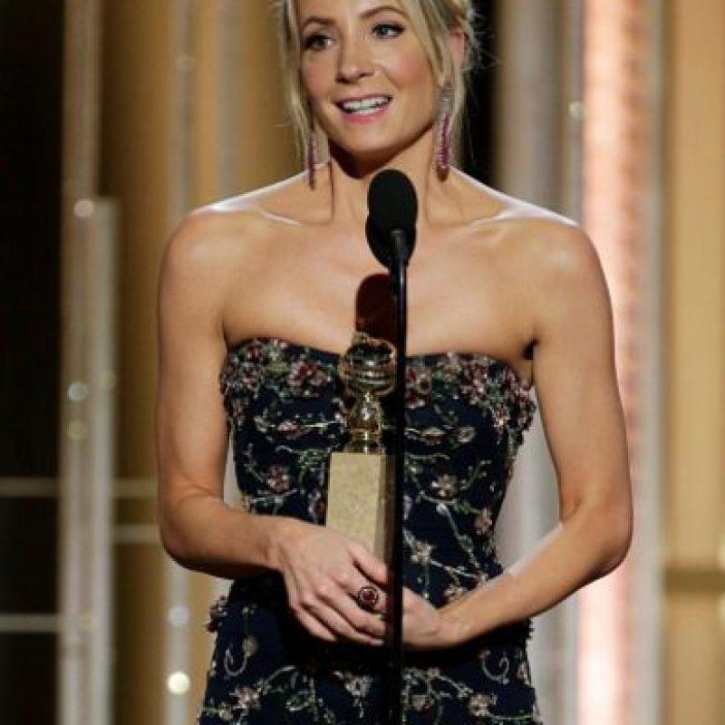 "Mejor Actriz Secundaria en una serie televisiva: Joanne Froggatt, por ""Dowtown Abbey"" Foto:Getty Images"