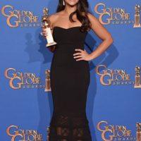 "Mejor Actriz de Película /comedia o musical en televisión: Gina Rodríguez, por ""Jane The Virgin"". Foto:Getty Images"