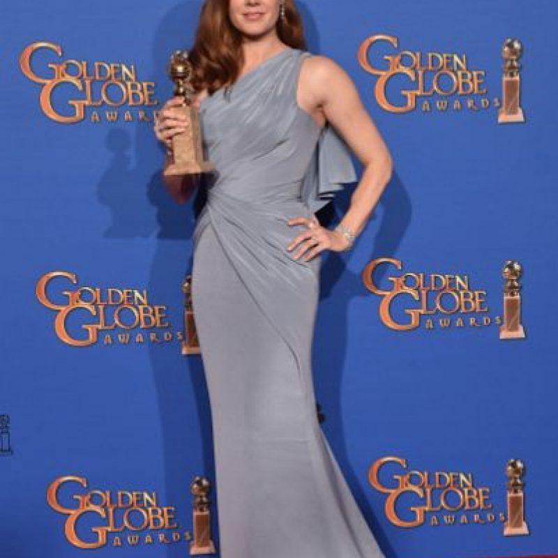"""Mejor Actriz de Película/Comedia o Musical: Amy Adams, por """"Big Eyes"""". Foto:Getty Images"""