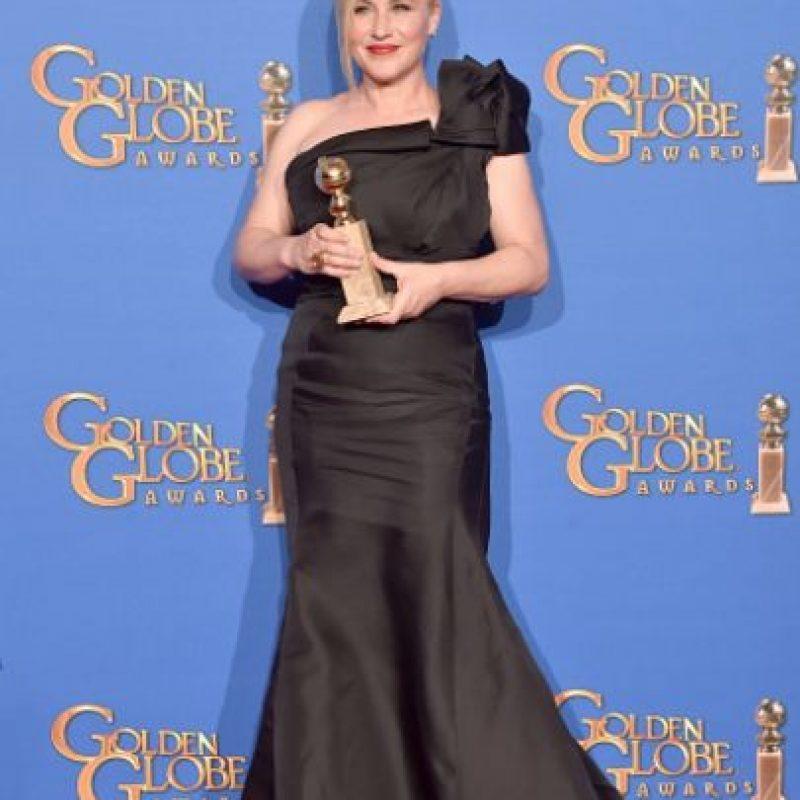 """Mejor Actriz Secundaria de Película: Patricia Arquette, por """"Boyhood"""". Foto:Getty Images"""