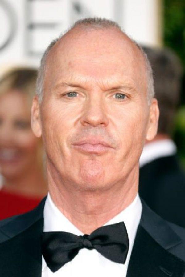 """Mejor Actor de Película (Drama): Michael Keaton, por """"Birdman"""". Foto:Getty Images"""