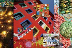 Arquitectura y juegos gráficos. Foto:Premium Textile Japan