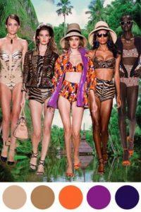 Jungla y tropicalismo como inspiradores. Foto:Trend Council