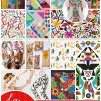 Estampados inspirados en lo mexicano y su color Foto:Hollie Holden /La Boca