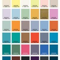 Estos serán los colores más usados. Foto:Pantone