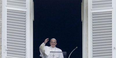Francisco ha condenado los hechos violentos ocurridos recientemente. Foto:AP