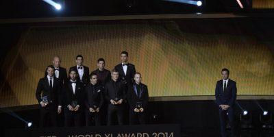 FIFpro XI Foto:AFP