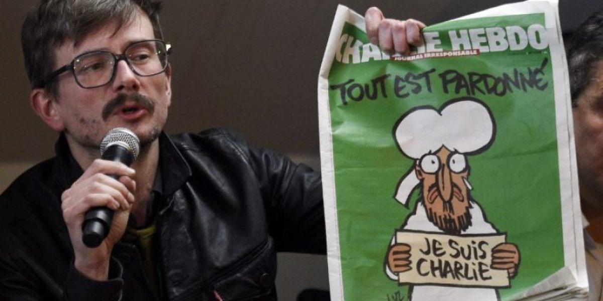 Charlie Hebdo explica el por qué del Mahoma de su portada