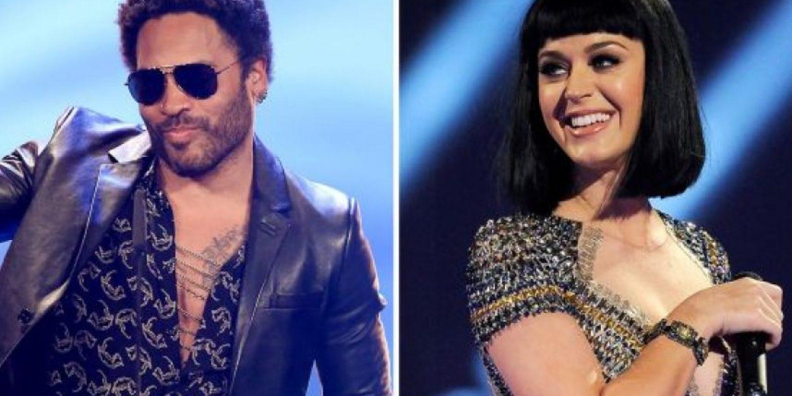 Katy Perry anunció que la súper estrella de rock Lenny Kravitz, compartirá el escenario del Super Bowl el próximo 1 de Febrero.