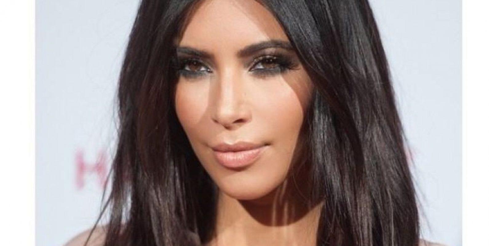 Kim como estamos acostumbrados a verla Foto:Instagram/Kim Kardashian