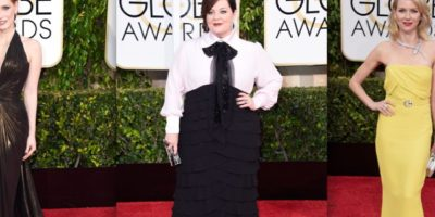 Fotos: Mira cómo llegaron vestidas las actrices a la gala de los Golden Globes 2015