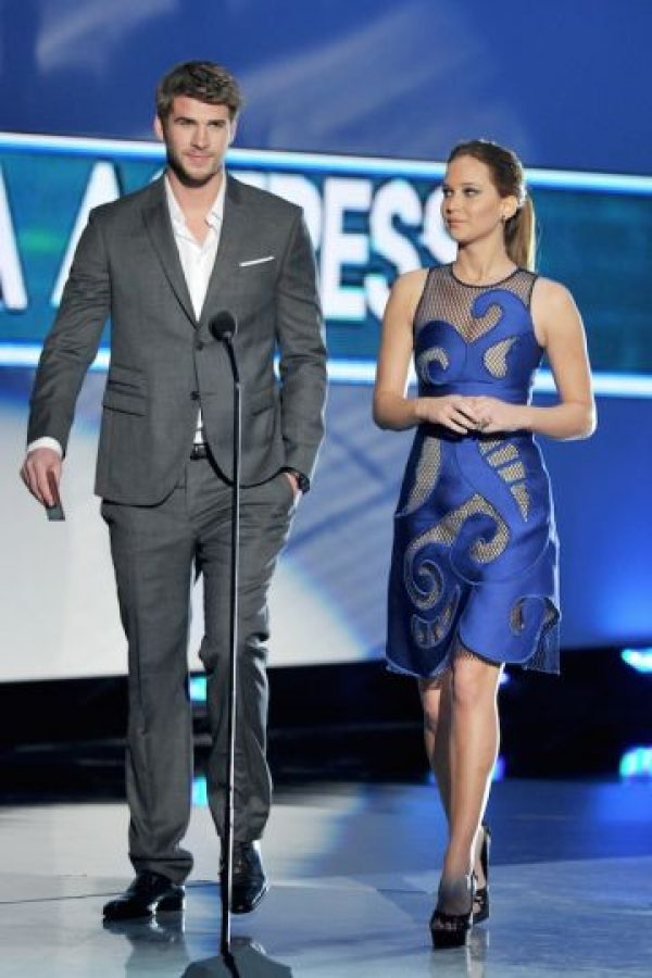Con Jennifer Lawrence Foto: Getty Images