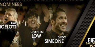 Los tres nominados al mejor entrenador del año de la FIFA. Foto:twitter.com/FIFAcom