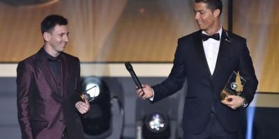 VIDEO. El hijo de Cristiano Ronaldo admira a Lionel Messi