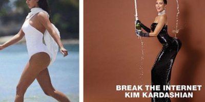 FOTOS: El trasero de Kim Kardashian ¿es una gran mentira?