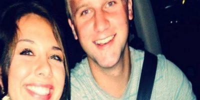 Ella es Britney y su marido es Briggs. Los dos se casaron 5 años luego de salir juntos. Foto:Facebook