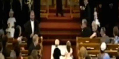 Ella era una pajecita y él cargaba los anillos Foto:Facebook